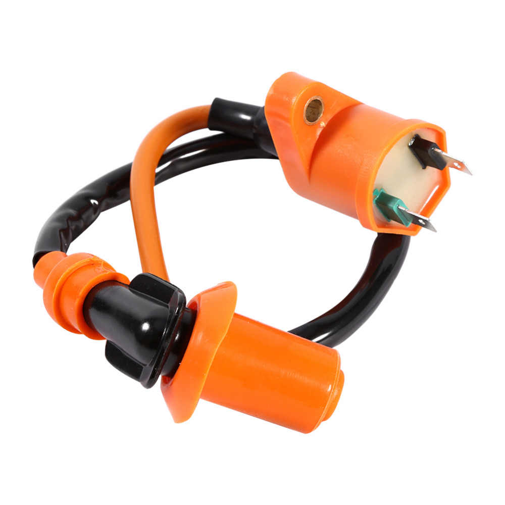 Car-Styling New Racing Performance CDI Ignition Coil Spark Plug For GY6 50CC 125CC 150CC ATV Scooter