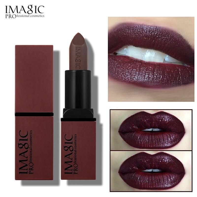 12 PCS/LOT IMAGIC rouge à lèvres chaud Sexy couleurs lèvres peinture mat rouge à lèvres étanche longue durée rouge à lèvres Kit