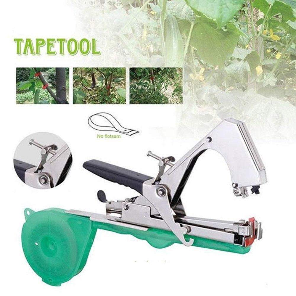 Plant Branch Hand Tying Binding Machine Flower Vegetable Garden Tapener Grape Tape Tool