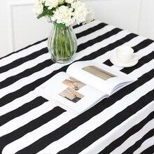 50x150 см черно-белая полоса ручной работы шитье самодельные Украшения хлопчатобумажная ткань, одежда диван занавеска скатерть наволочка