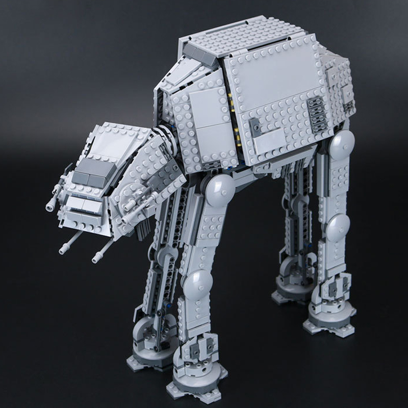 Lepin 05051 Series Star War Force Awaken The AT Transpotation AT Armored Robot 75054 Building Blocks Brick Educational Toys Gift lepin 05040 y attack starfighter wing building block assembled brick star series war toys compatible with 10134 educational gift