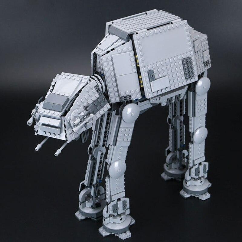 Lepin 05051 Series Star War Force Awaken The AT Transpotation AT Armored Robot 75054 Building Blocks Brick Educational Toys Gift