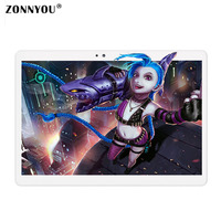 10.1 inch Tablet PC Android 6.0 3G Phone Call 32GB Octa Core 1.5GHz, RAM: 4GB, Dual SIM, OTG, WiFi, BT, GPS,IPS Tablets PC