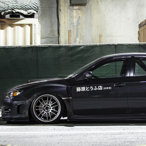 Image 4 - 1Pc JDM japońskie Kanji początkowe D Drift Turbo Euro charakter samochodów naklejki Auto winylu dekoracyjna naklejka samochodów stylizacji akcesoria