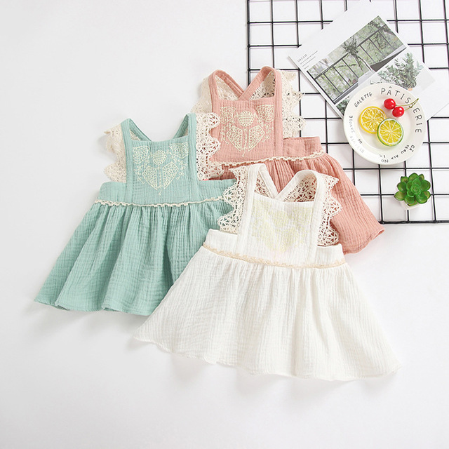 108b849bb 5140 Super Cute! Embroidery Lace Toddler Girls Dresses Princess Sundress  Summer Kids Dresses Wholesale Baby Girl Clothes 5P Lot