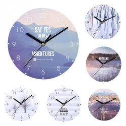 Retro Arabic Numerals Gift Round Big Dial Living Room Practical Hanging Home Decoration Wall Clock European Style Mute Bedroom