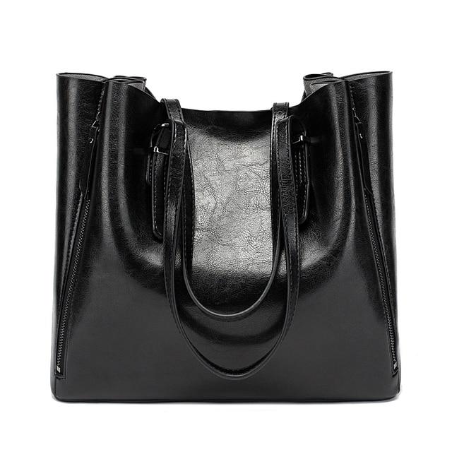 חדש אופנה יוקרה תיק נשים נשים גדול תיק נשי דלי כתף שקיות גברת עור שליח תיק קניות תיק