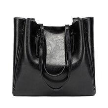 Neue Mode Luxus Frauen Handtasche der Frauen Große Einkaufstasche Weibliche Eimer Schulter Taschen Dame Leder Umhängetasche Einkaufstasche