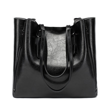 Women's Handbag Tote-Bag Large Luxury Bucket Messenger-Bag New-Fashion Lady Female