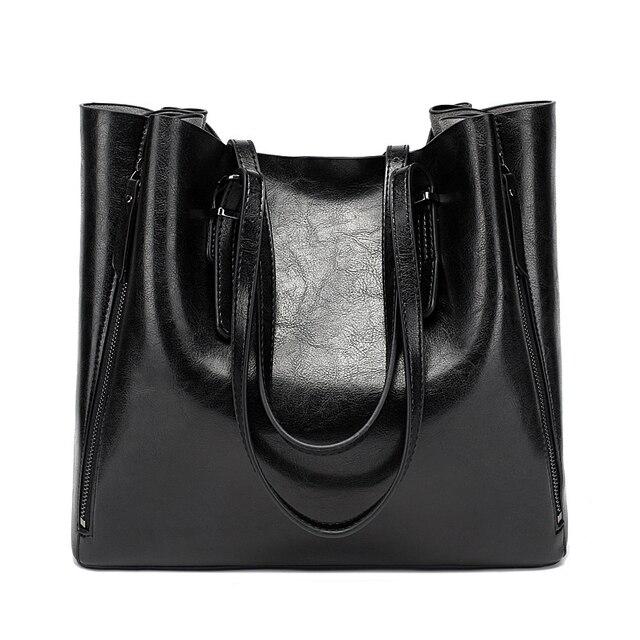 New Fashion Luxury Womens Handbag Women Large Tote Bag Female Bucket Shoulder Bags Lady Leather Messenger Bag Shopping Bag