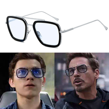Spider Man Far From Home Ediath Cosplay Costume Accessory Glasses Avengers Iron Tony Stark Prop