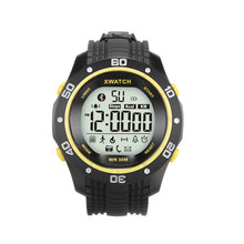 XWatch Waterproof Smart Watch, Night Visible, Pedometer, Sleep Monitor, Bluetooth for iPhone 5s 6s 7 & Android
