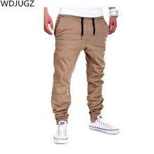 Мода Армии Хаки Повседневные Мужские Брюки, тактические Тренировочные Брюки Хип-хоп Бегуном Капри Военный Стиль брюки