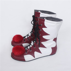 Image 5 - 2018 Hot Sale Stephen Kings It Pennywise Cosplay Shoes and Mask Horrible Clown Boots Custom Halloween Christmas Accessories