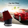 Universal SUV Truck Car Air Intake Filter Ornament Automobile Air Filter 63MM Caliber Grille Design Mushroom Head Style