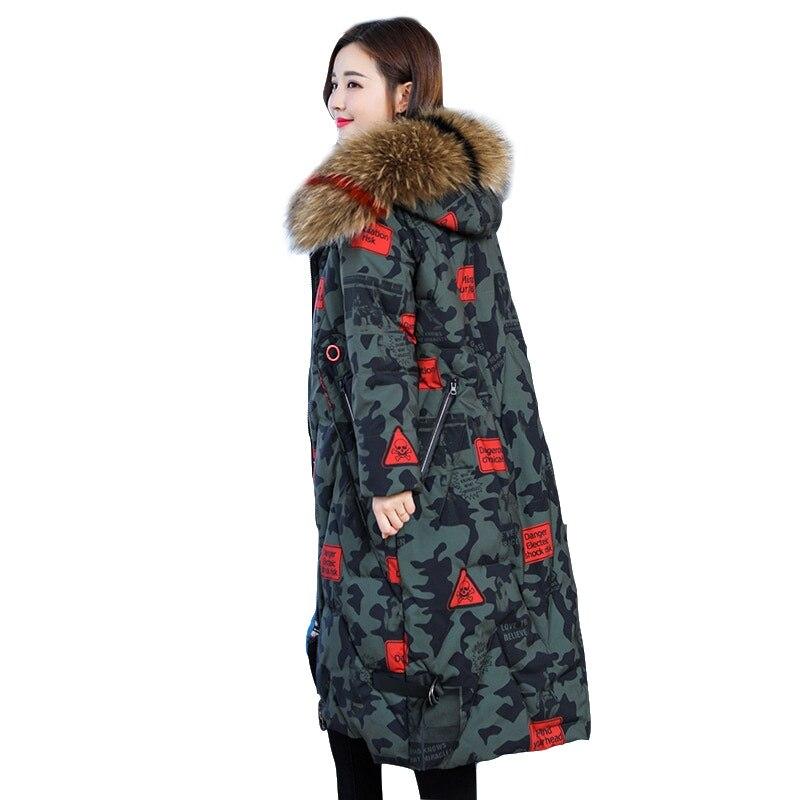 2018 Qualité Parkas grey As Haute Picture Veste Longues Outwear À Manteau Fourrure Plus Femelle black Camouflage La Capuchon Femmes Taille Z0400 The De D'hiver pgwvqEwTx