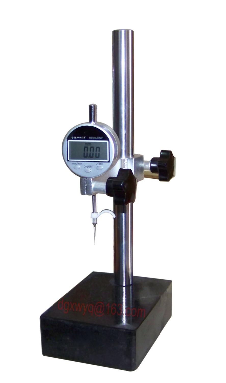 Desktop depth gauge/Height gauge/Digital Depth Gauge(0-25.4mmx0.01),Fast delivery! block gauge set 47pcs set 0 grade 1 005 100mm fast delivery