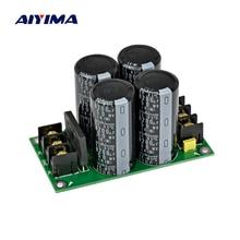 AIYIMA усилитель один мост выпрямитель фильтр мощность доска высокой мощности 8200 мкФ/50 в Питание плата питания для усилителя аудио DIY
