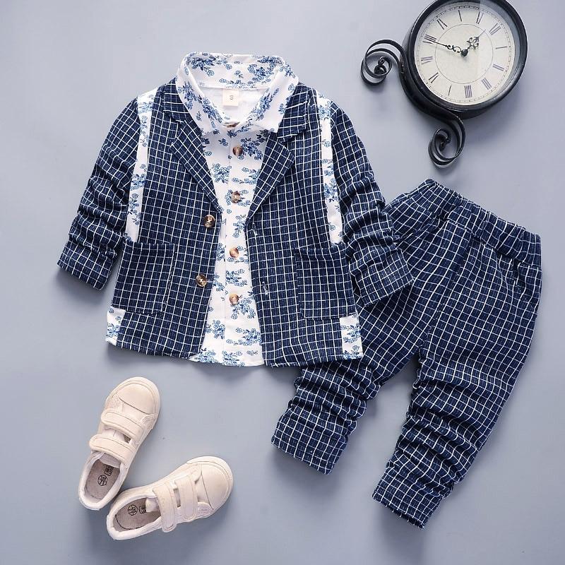 c095b4497 Detail Feedback Questions about 3pcs Long Sleeve Shirt + jacket + ...