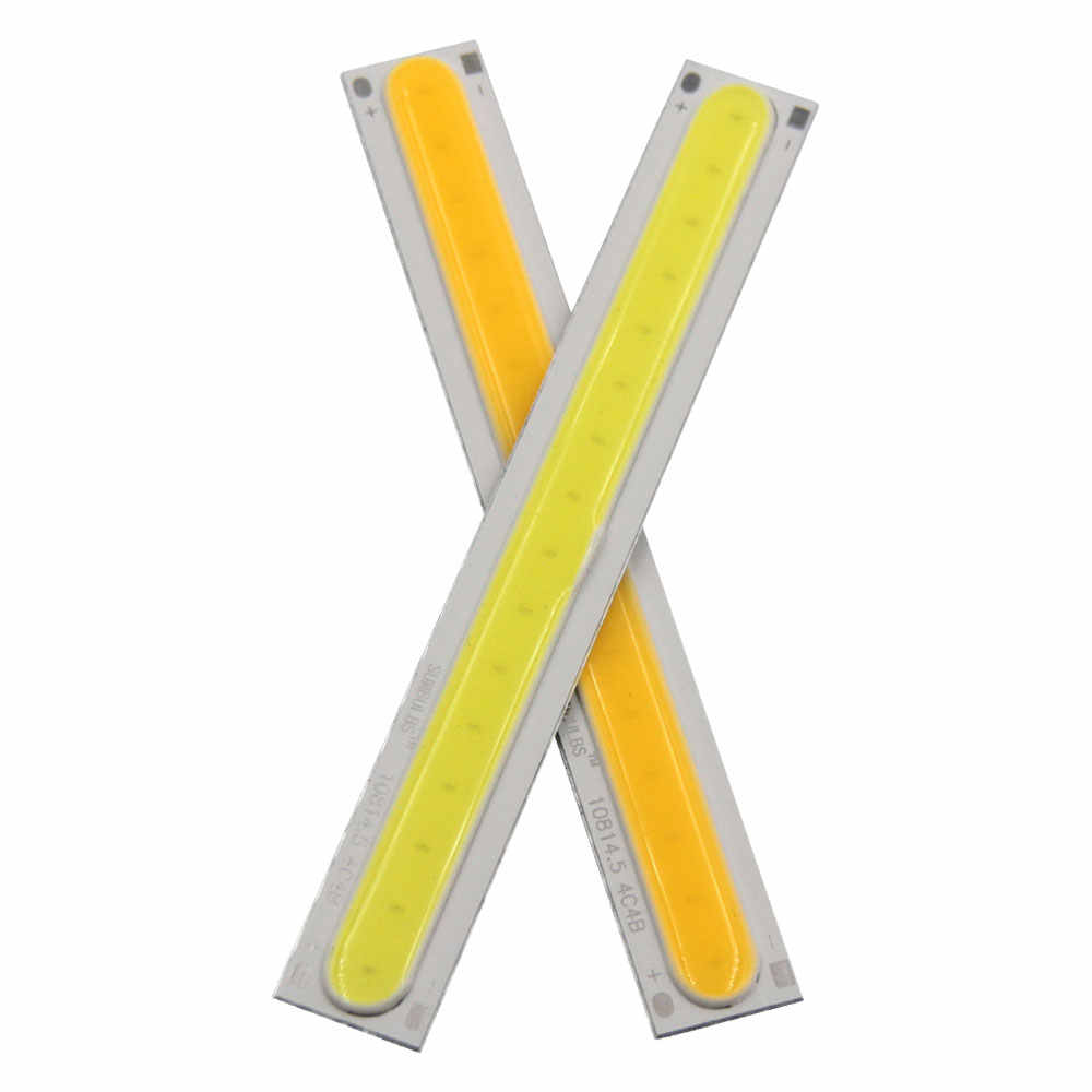 [Sumbulbs] 108x15MM 4W Warm Cool White COB LED Light Source Strip Bard Lights DC12V 500LM LED Lamp Bulb DIY Car House Lighting