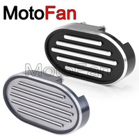 Motorcycle Parts Brake Pedal Pads Foot Peg Covers Chrome For Harley Davidson Sportster XL883 XL1200 V