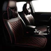 Funda de asiento de coche para bmw e46, fundas de asiento coupe, cubierta completa, mismo ajuste de estructura, conjunto de fundas de asiento de cuero delantero y trasero para coches