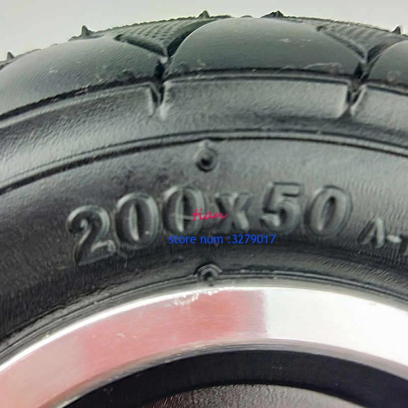 """200x50 skuter elektryczny opony WheelCenter axisHub 8 """"skuter opony koła ze stopu Aluminium opony pneumatyczne inflacja pojazd elektryczny"""