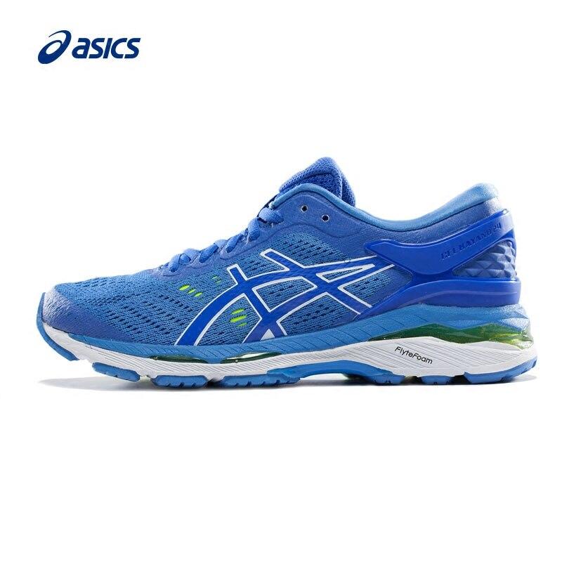 Stabilità delle originale ASICS GEL-KAYANO 24 Donne Scarpe Da Corsa ASICS Scarpe Sportive Sneakers trasporto libero