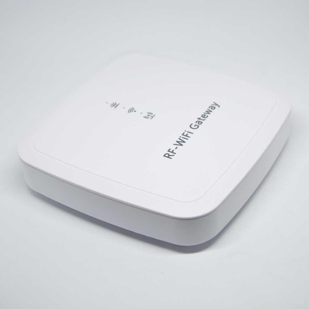 New Smart Home security RF WIFI gateway Alarm system with APP Control Door  open alarm Self defense smoke fire alarm detector