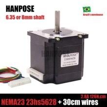 5628 с 4мя фазами, Nema 23 шагового двигателя 57 двигатель 2.8A ISO лазера CNC Измельчить Пена плазменной резки