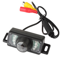 Wide Viewing Angle Waterproof Reversing Backup Camera 7 IR LED Night Car Rear View Camera цены