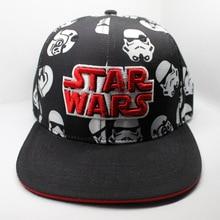 90797259926 Darth Vader Stormtrooper Cosplay Black Canvas Dome Hip-Hop Fashion Baseball Hat  Wars Cosplay Cap