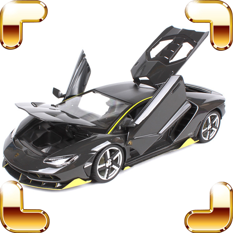 New Arrival Gift LP770-4 1/18 Metal Model Sports Car Diecast Collection Toys Cars Vehicle Metallic Static Big Alloy Present new year gift gallargo 1 18 large model metal car metallic scale simulation diecast alloy collection toys vehicle present