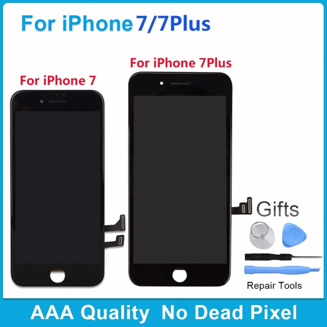 new product 241e0 e75e3 US $22.48 24% OFF Aliexpress.com : Buy For iPhone 7 AAA Grade No Dead Pixel  Screen For iPhone 7 Plus LCD Display With Touch Screen Digitizer Assembly  ...