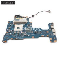 NOKOTION Loptop motherboard for Toshiba L670 L675 K000103760 NALAA LA 6041P REV 1.0 Intel HM55 DDR3 Main board free cpu