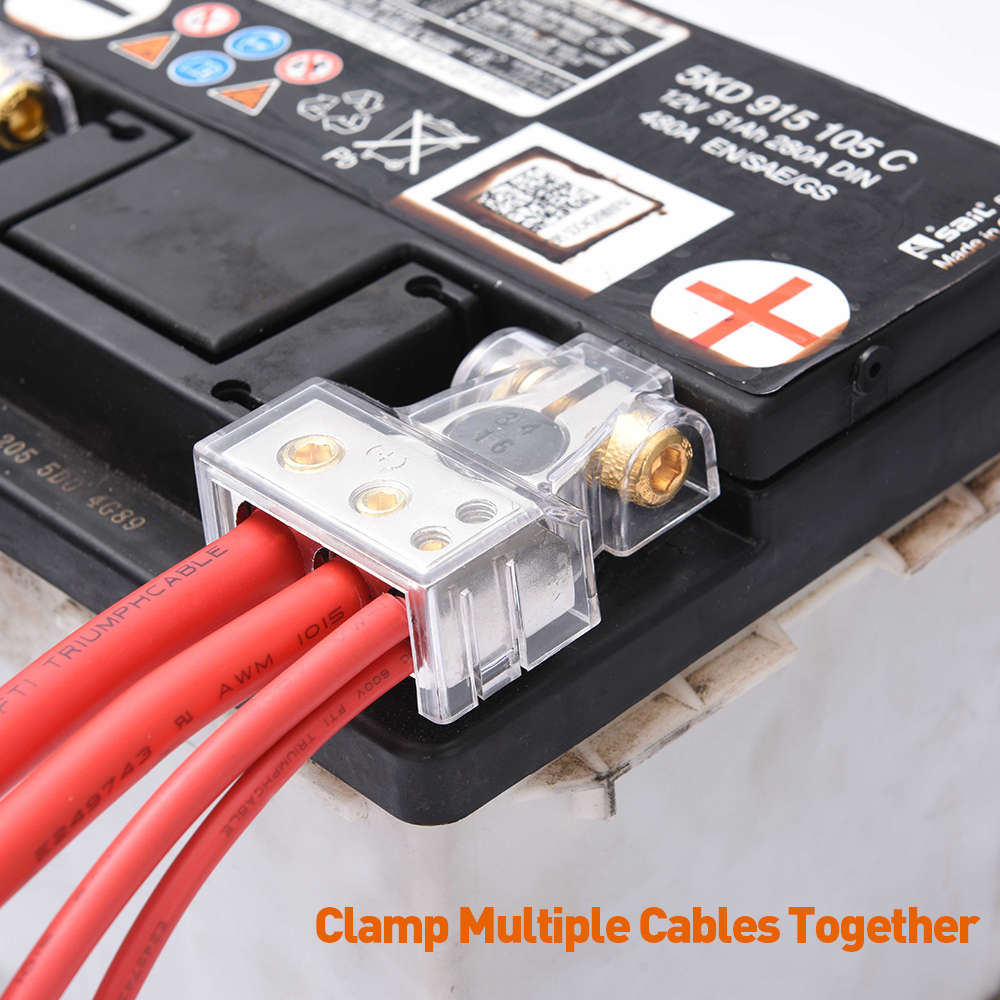 """4 GAUGE REPLACEMENT BATTERY CABLE 15/"""""""