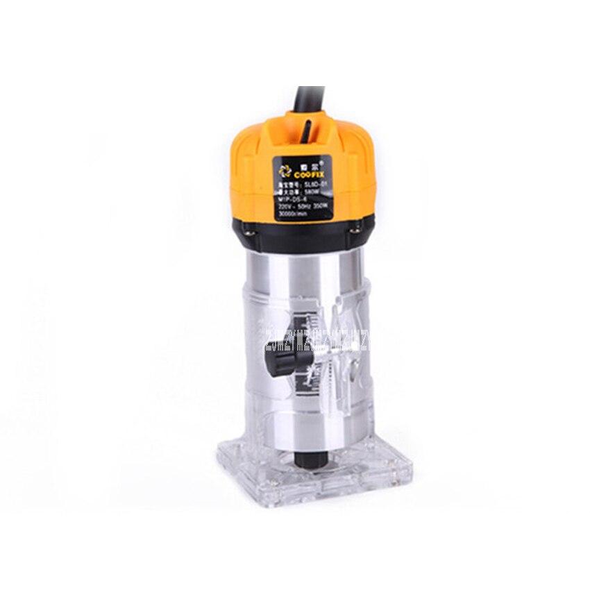 Tondeuse électrique à bois Machine à rainurer multi-fonction Machine de gravure SL 1069 en aluminium corps tondeuse 220 v 350 W 3000r/min - 2