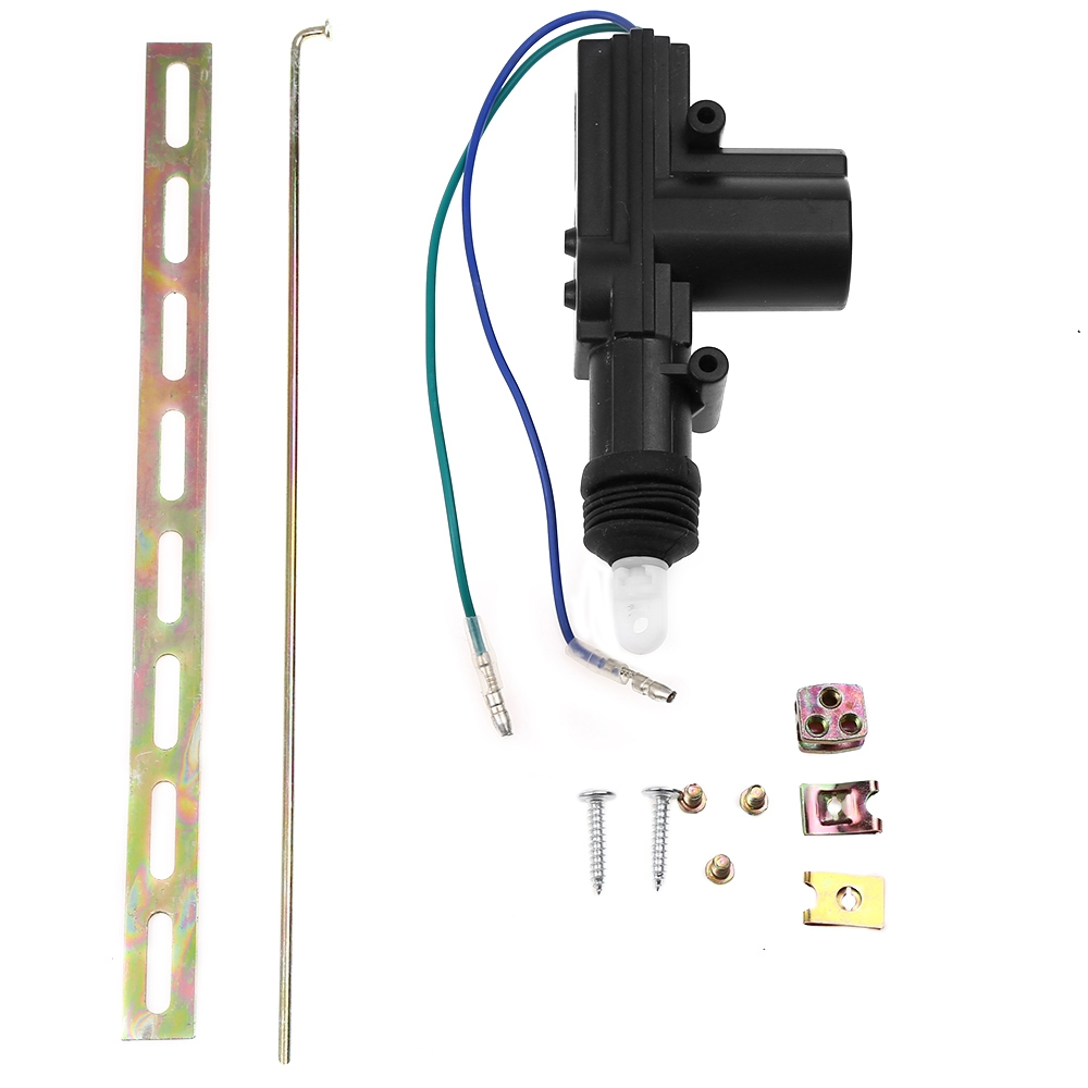 Universal 12v car central locking 2 wire single gun type for 12v door lock actuator