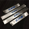 For Mazda CX-5 cx5 2014 2015 2016 2017 inside Door Sill Scuff Plate Welcome Pedal Stainless Steel Car Styling Accessories