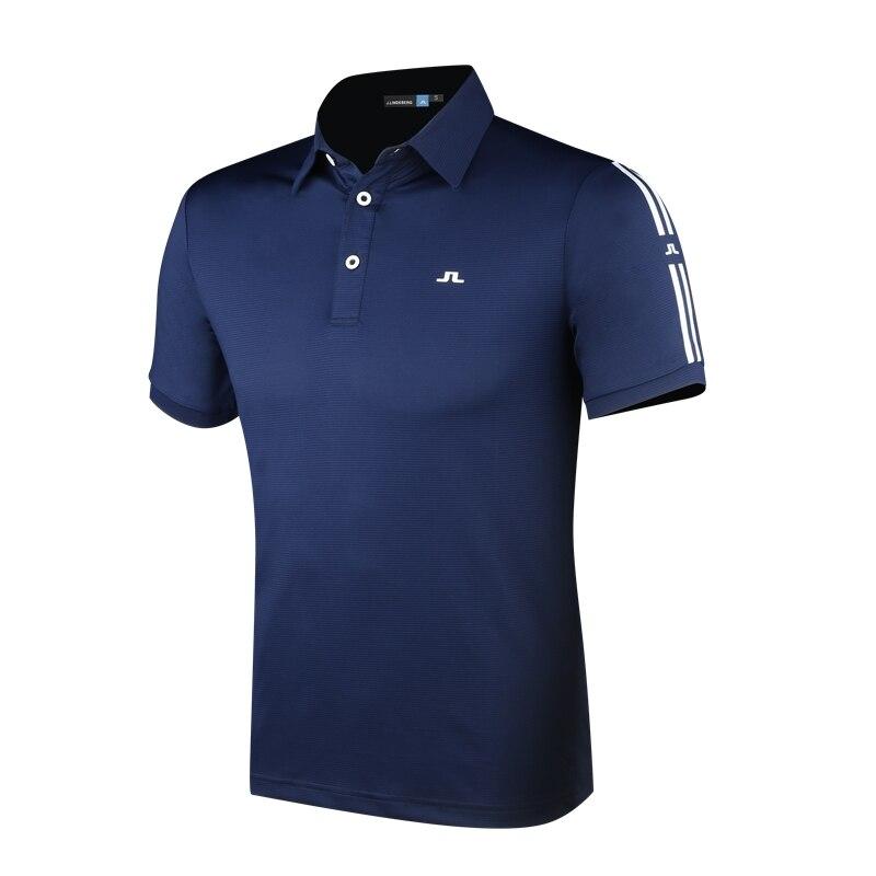 Cooyute nouveaux hommes Sportswear à manches courtes JL Golf T-shirt 4 couleurs Golf vêtements S-XXL au choix loisirs Golf chemise livraison gratuite