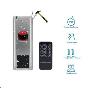 Image 2 - LPSECURITY Waterproof IP66 1000 users metal Biometrics Fingerprint access control system rfid 125khz reader door access control