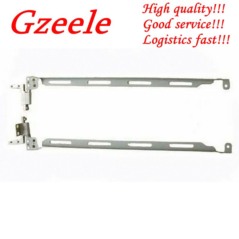 GZEELE NEW Notebook LCD Hinge For HP Compaq NX7300 NX7400 Left & Right Laptop LCD Screen Hinges Bracket 15.4-inch