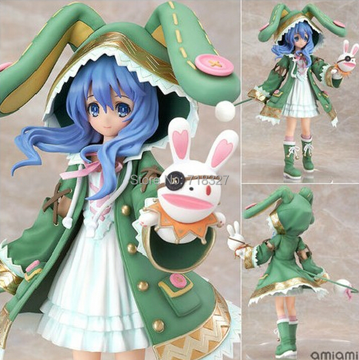 ФОТО Japanese comics Date A Live Yoshino PLUM Rabbit 1/8 Scale Painted PVC Action Figure Collectible Model Toy 18cm Free Shipping