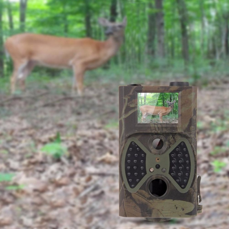2018 New HC300A Hunting Trail Camera 12MP Wildlife Trail Cameras Scouting Digital Camera Infrared Trail Hunting Trap Game Camera atatry 001m wildlife digital trail hunting camera