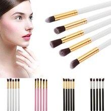 GRACEFUL 5PCS Cosmetic Set Eyeshadow Foundation Wood Pro MakeUp Brush Tools cepillo FREE SHIPPING SEPT6