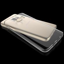 Przezroczysty futerał do Samsung Galaxy A7 2018 S10 Plus Lite S8 S9 Plus S7 krawędzi A8 Plus 2018 A5 2017 a50 A30 miękka okładka Funda Coque tanie tanio KALCAS Aneks Skrzynki Soft Silicone TPU Phone Bag Cases For Samsung A8 Plus 2018 Odporna na brud Galaxy S8 Plus Galaxy S7