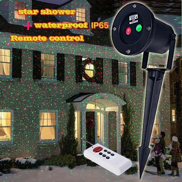 f43a70ad887 Control Remoto IP65 + 8en1 superior impermeable Al Aire Libre luces de  navidad al aire libre