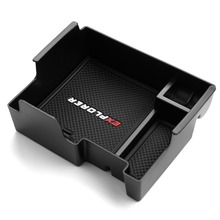 Armrest Storage Box for Ford Explorer 2011-2019 Center Console Organizer Tray for Explorer Holder Case 2014 2015 2016 2017 2018 все цены