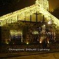 Отлично! праздничный свет свадебное украшение 1*6 м Светодиодная звезда лампа H266