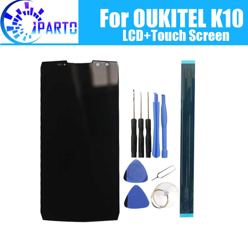 6,0 zoll OUKITEL K10 LCD Display + Touch Screen 100% Original Getestet LCD Digitizer Glas Panel Ersatz Für OUKITEL K10